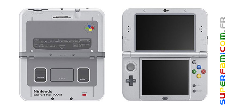 SuperFamicom.fr New Nintendo 3DS Super Famicom Edition 00