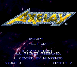 SuperFamicom.fr cheat code Muteki Axelay 00