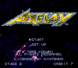 SuperFamicom.fr cheat code Muteki Axelay 01