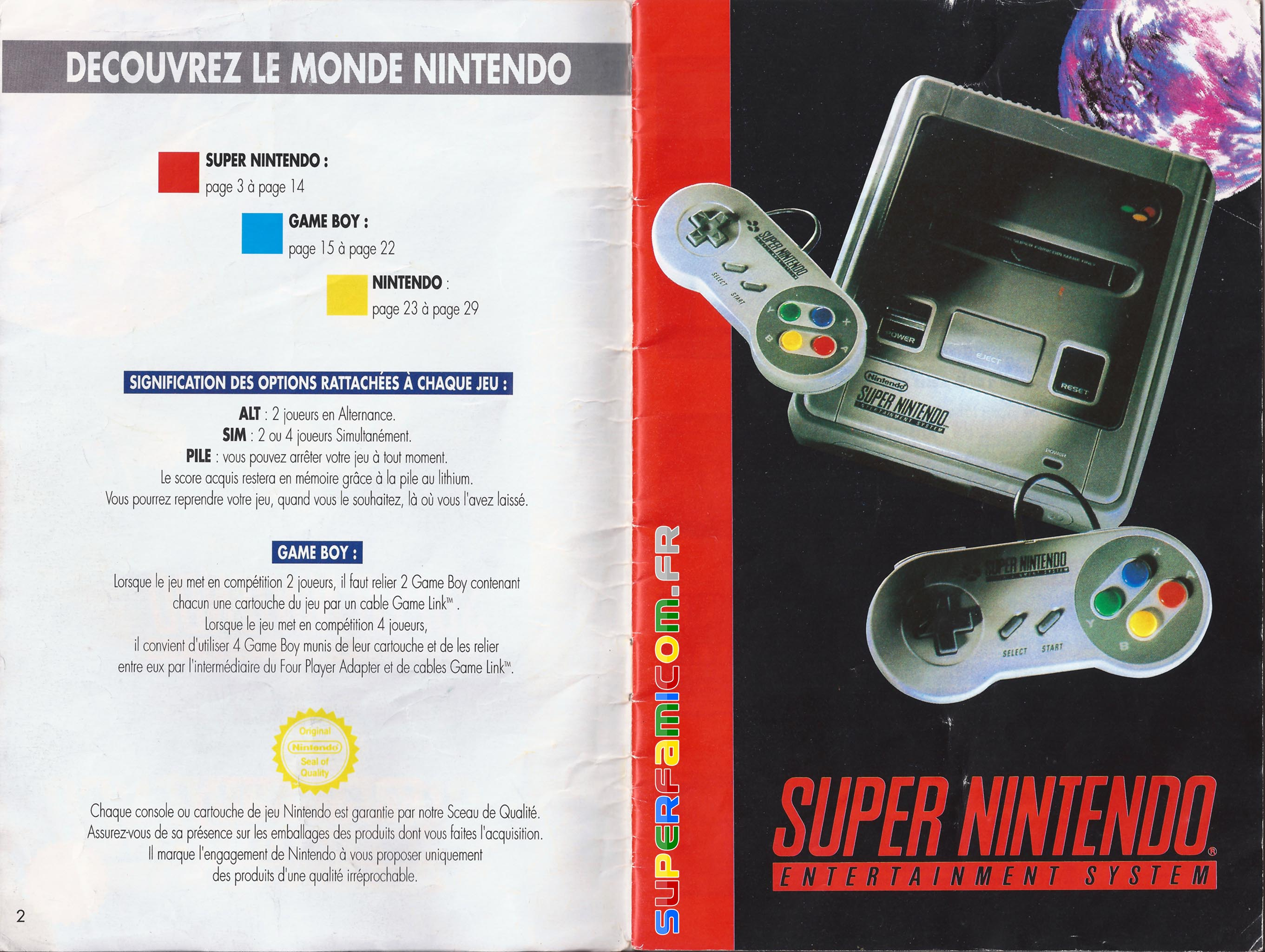 SuperFamicom.fr SNES Catalogue1993 01