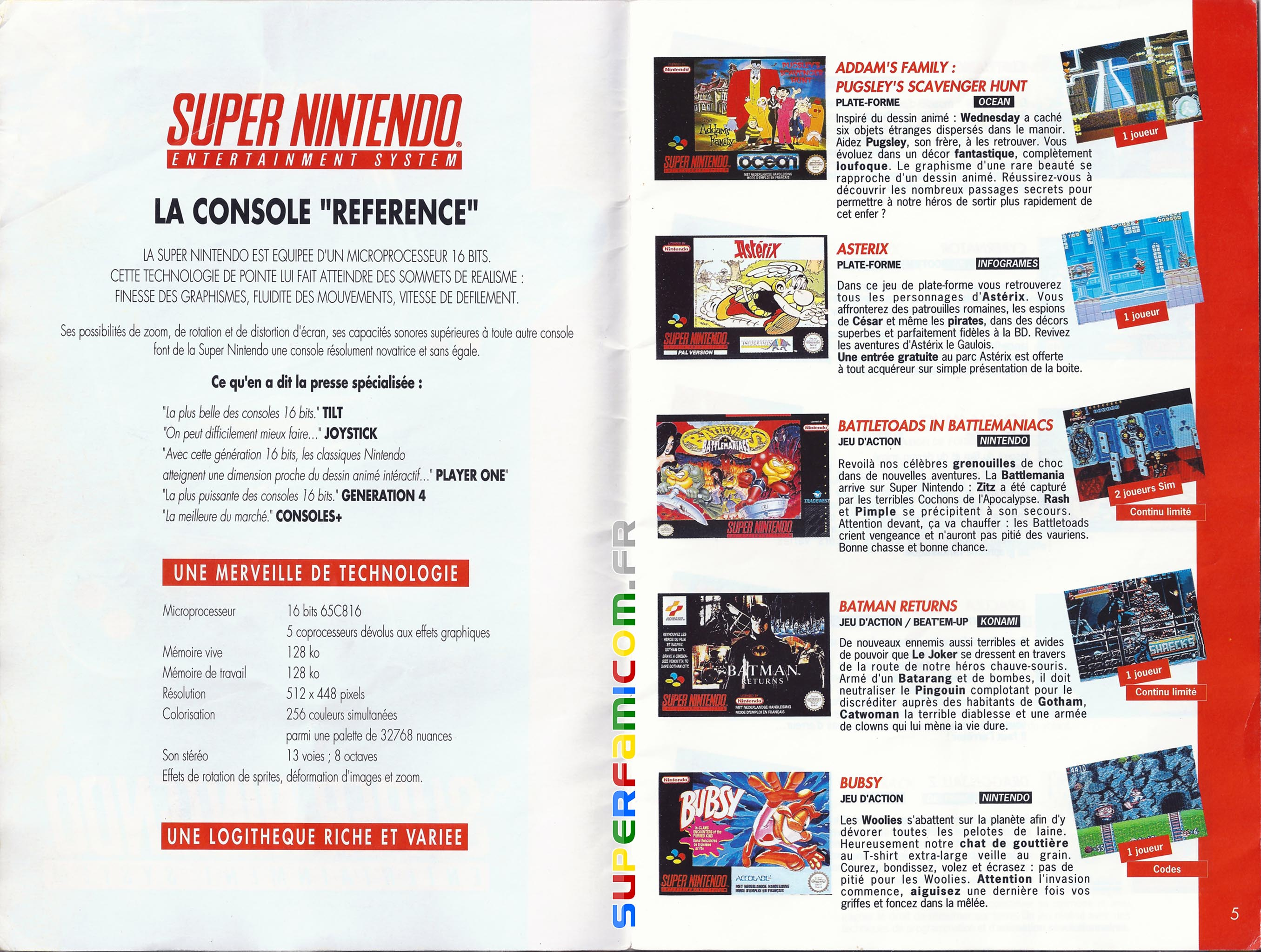 SuperFamicom.fr SNES Catalogue1993 02