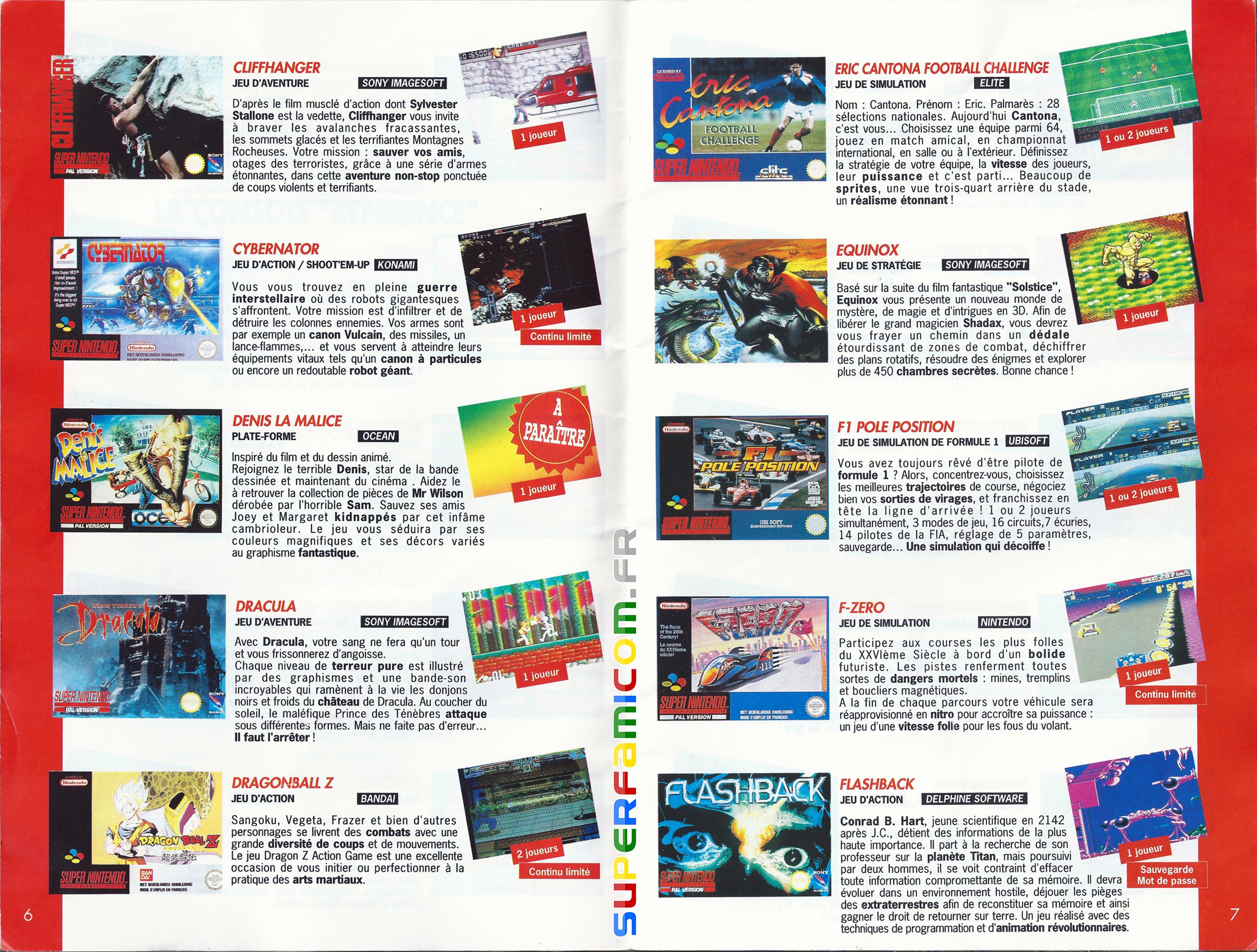 SuperFamicom.fr SNES Catalogue1993 03