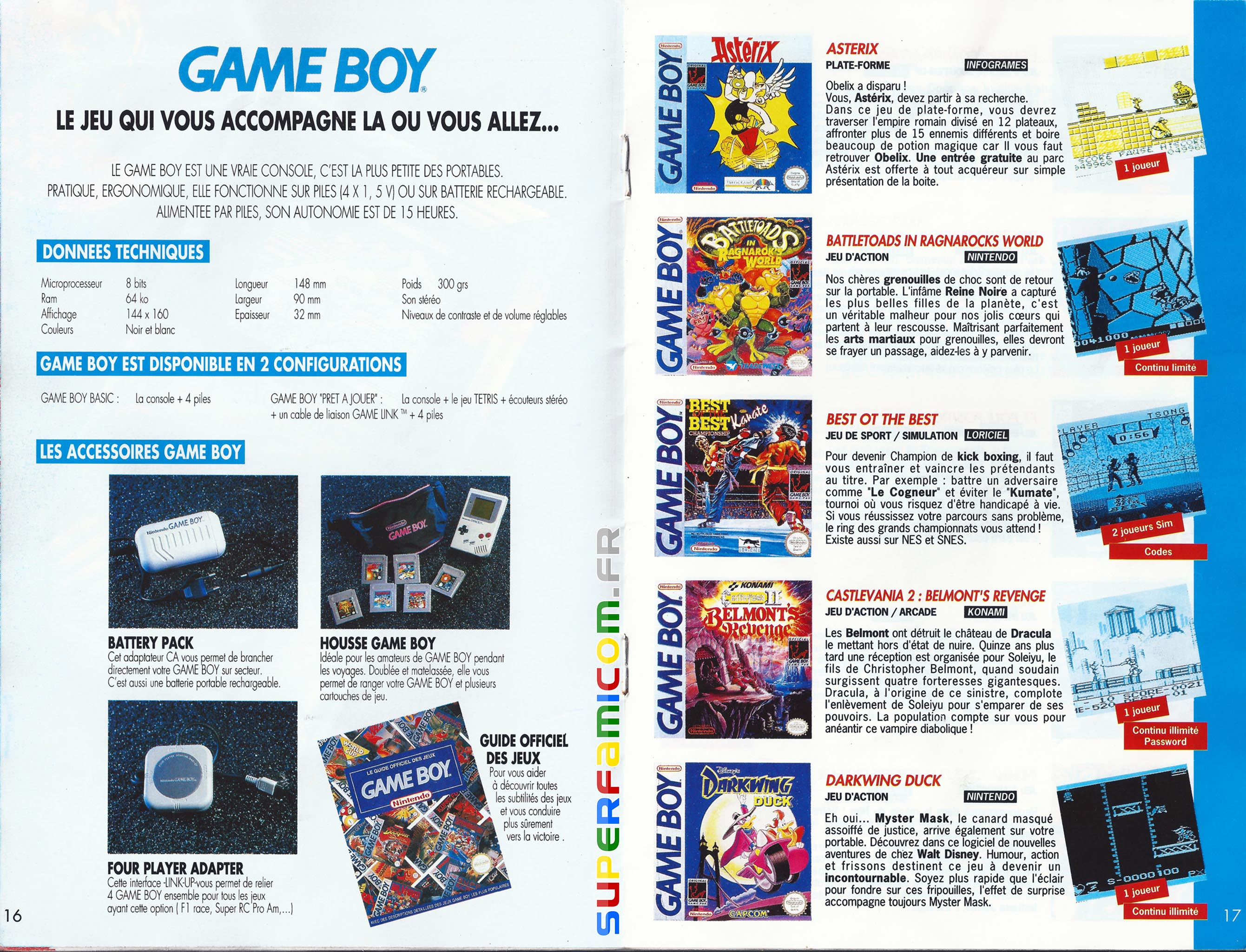 SuperFamicom.fr SNES Catalogue1993 08