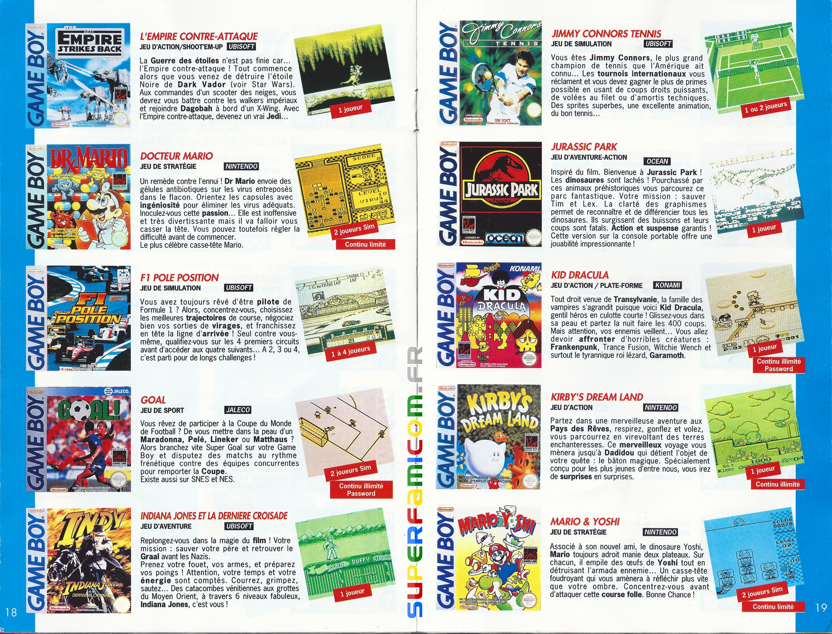 SuperFamicom.fr SNES Catalogue1993 09