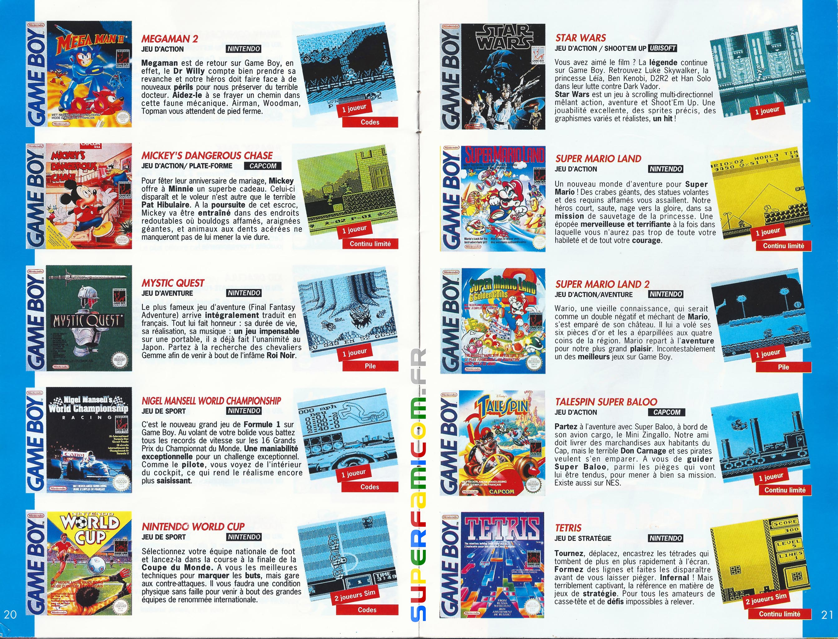 SuperFamicom.fr SNES Catalogue1993 10