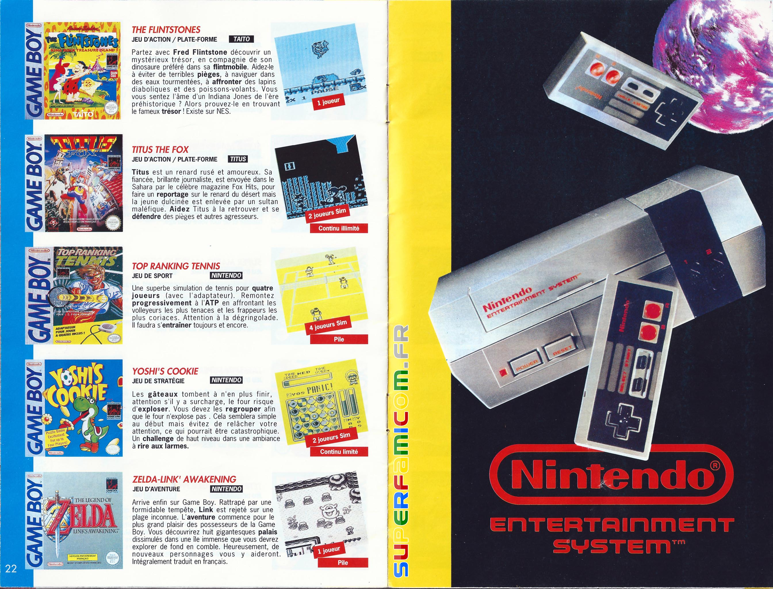 SuperFamicom.fr SNES Catalogue1993 11