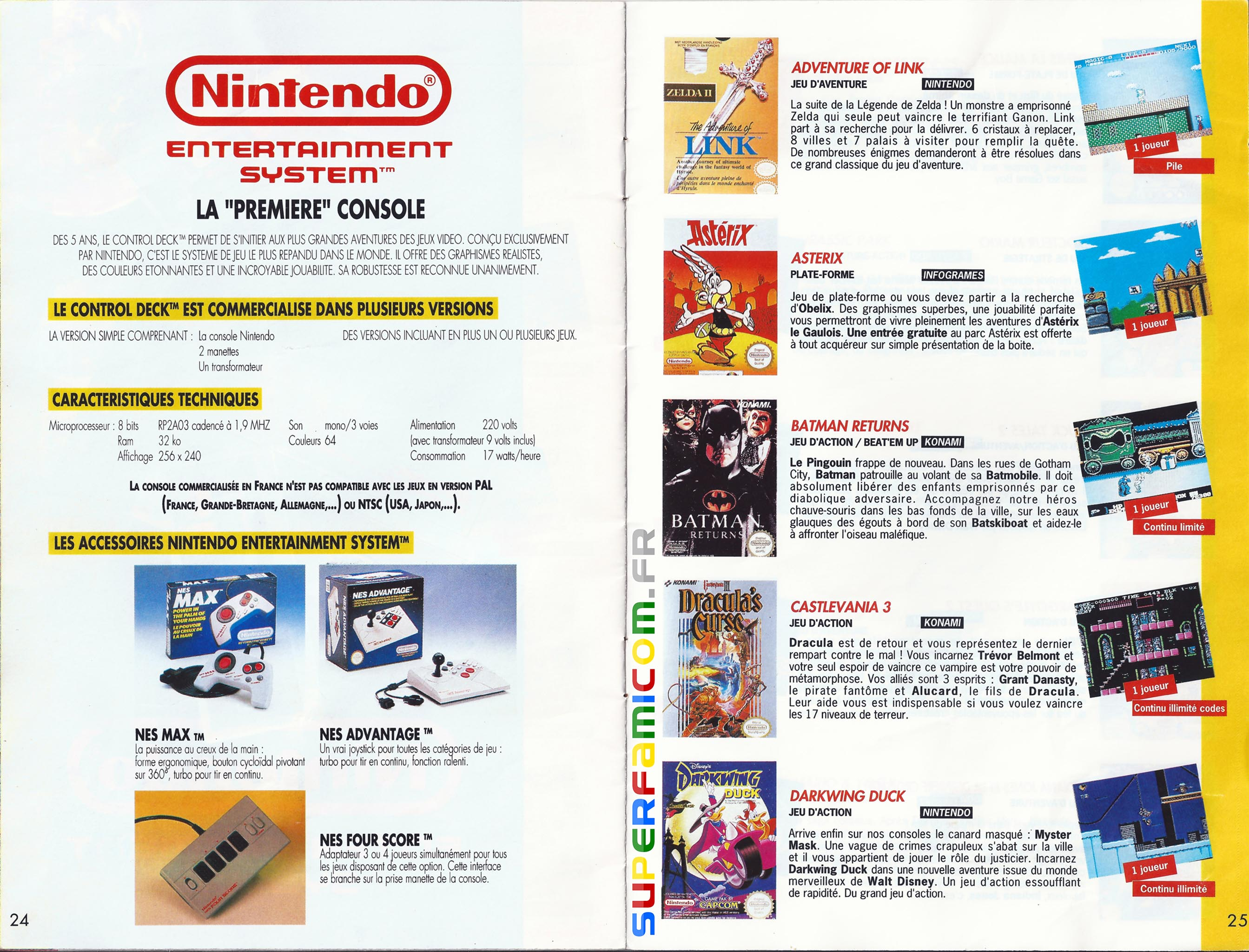 SuperFamicom.fr SNES Catalogue1993 12