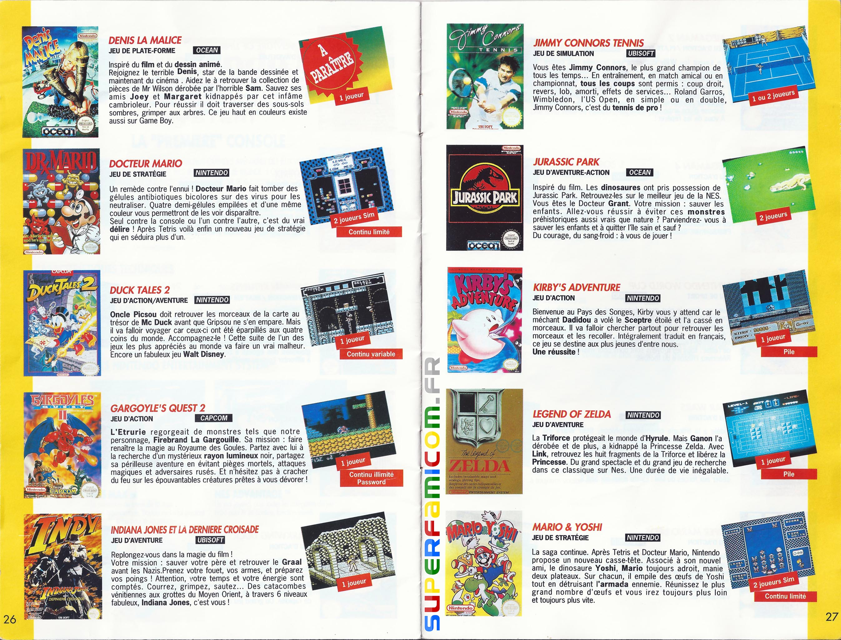 SuperFamicom.fr SNES Catalogue1993 13