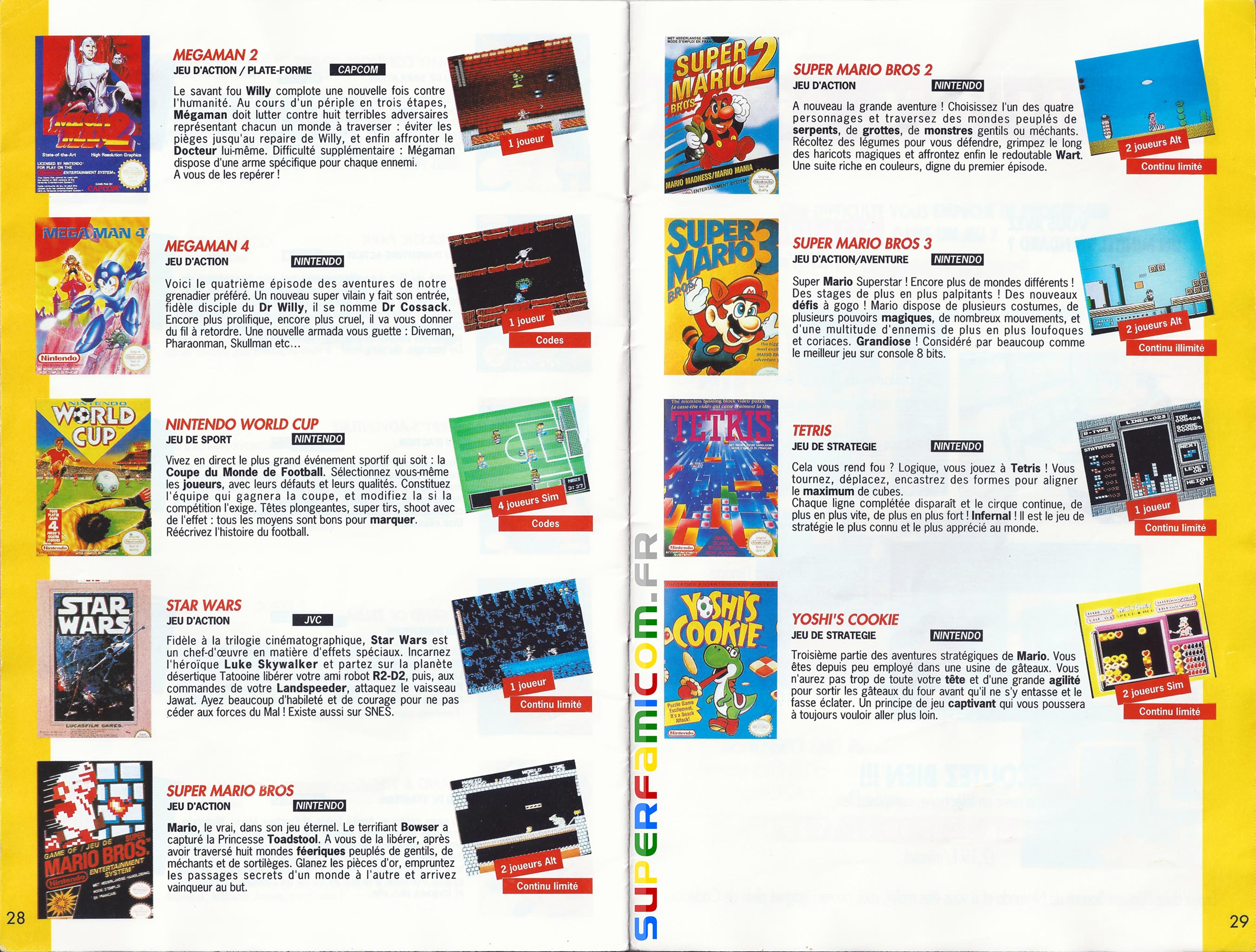 SuperFamicom.fr SNES Catalogue1993 14