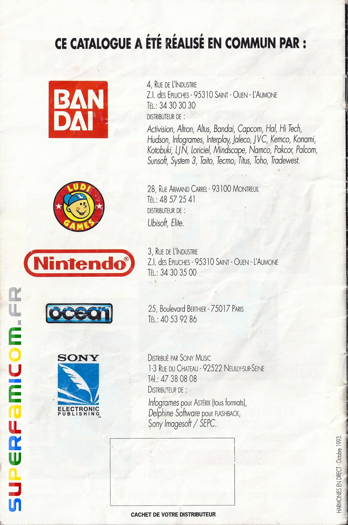 SuperFamicom.fr SNES Catalogue1993 16