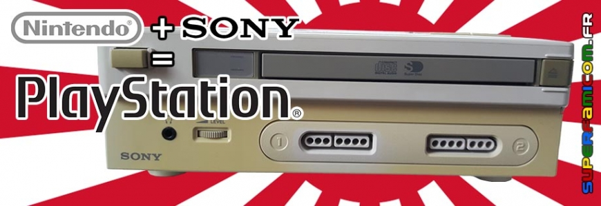 Nintendo Play Station Prototype