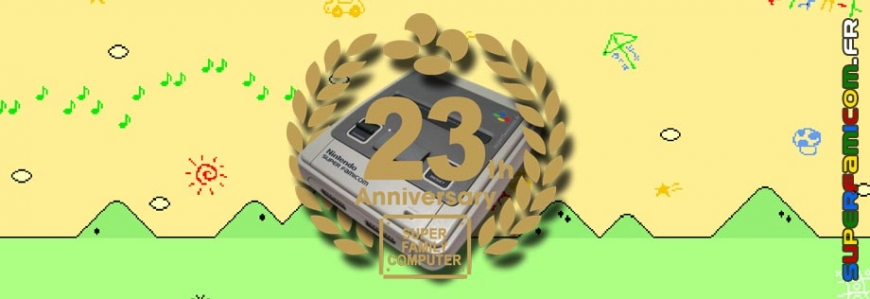 Super Famicom 23 Ans