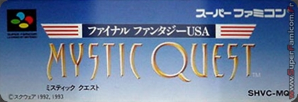 Final Fantasy Usa - Mystic Quest