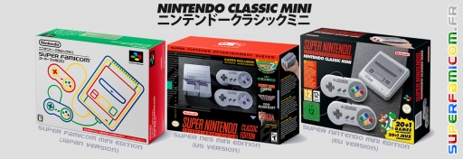 Super Famicom Nintendo Classic Mini